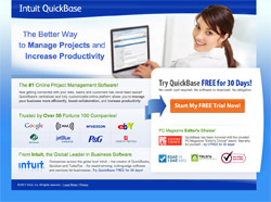 Intuit Landing Page